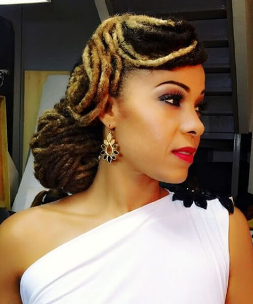 Black Men Wedding Hairstyles: Women Dreadlocks Styles: 2019 Tips And Tricks
