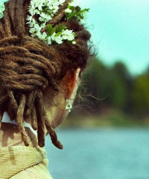 jasmine wedding women dreadlocks styles