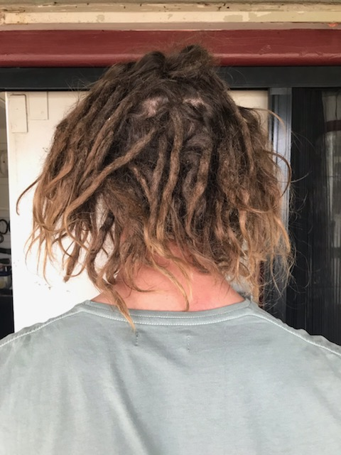 Dreadlocks removal before
