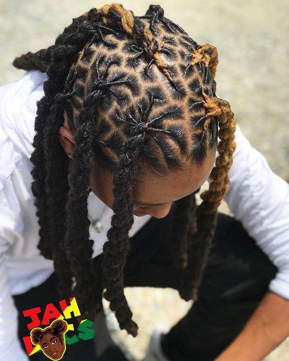 Retwist dreads