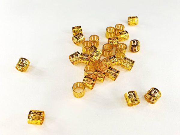 Accessories dreadlocks filigree gold