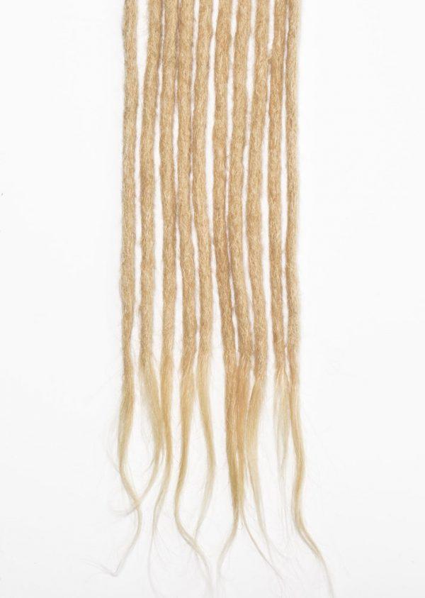 Blonde #613 human hair dreadlocks extensions