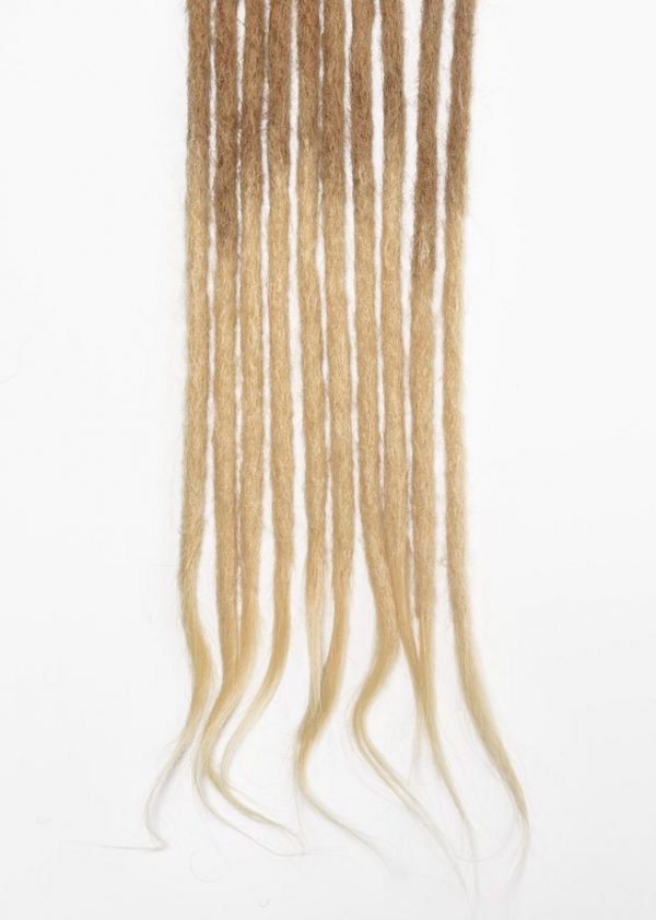 brown blonde human hair dreadlocks extensions