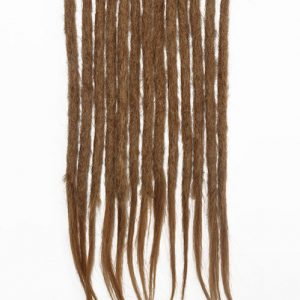 Caramel #10 human hair dreadlocks extensions